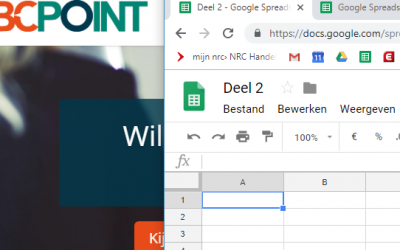 2 – Excel- of Spreadsheet – Checklist